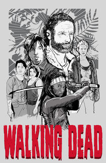 Walking Dead von Matt Fontaine