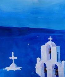 Enchanting Santorini, Greece - View from Oia von M.  Bleichner