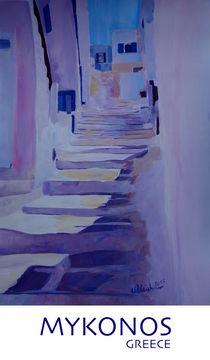 Typisch Mykonos Griechenland by M.  Bleichner