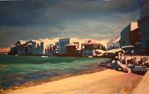 Malerisches Klein Venedig in Mykonos Griechenland by M.  Bleichner