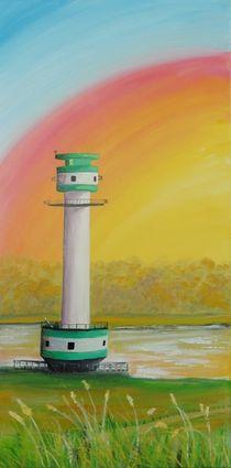 Leuchtturm Friedrichsort von Barbara Kaiser