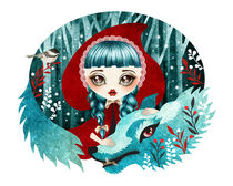 Red of the Woods von Sandra Vargas