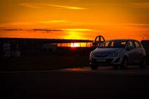 Sundown on a Airport by aseifert