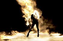 Sexy Fire Girl von Miguel Tejeda