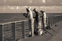 Fishing on Pier von cinema4design