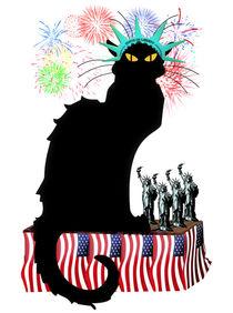 Le-chat-noir-patriotic