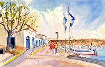 Harbour Of Cala Ratjada 01 von Miki de Goodaboom