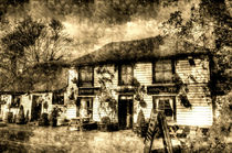 The Theydon Oak Pub Vintage von David Pyatt