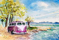 Holiday In Cala Ratjada von Miki de Goodaboom