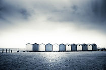 beach huts by Dorit Fuhg