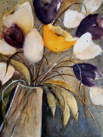 Tulpen in Vase -Tulips in Vase by Chris Berger