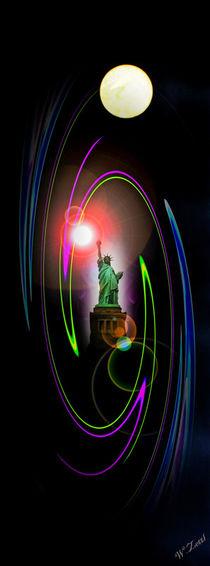Freiheitsstatue - Statue of Liberty by Walter Zettl