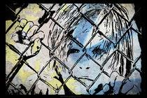 Youth behind the fence von Nicole Frischlich