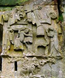 Externsteine, Relief Kreuzabnahme Christi von Sabine Radtke