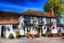 The Theydon Oak Pub von David Pyatt