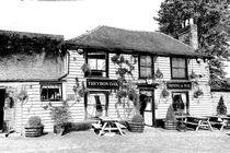 The Theydon Oak Pub Sketch von David Pyatt
