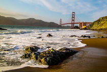 Golden Gate Bridge, San Francisco by Lev Kaytsner