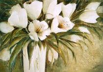 Weiße Tulpen  -  White Tulips von Chris Berger