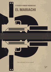 No445 My El mariachi minimal movie poster by chungkong