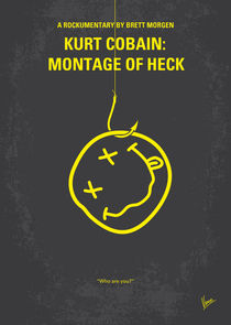 No448 My Montage of Heck minimal movie poster von chungkong