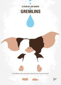 No451 My Gremlins minimal movie poster by chungkong