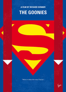 No456 My The Goonies minimal movie poster von chungkong