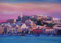 Ibiza Eivissa Old Town and Harbour Pearl of the Mediterranean von M.  Bleichner