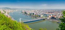 Budapest Panorama von Matthias Hauser