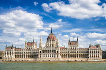 Budapest Ungarn Parlament Paramentsgebäude von Matthias Hauser