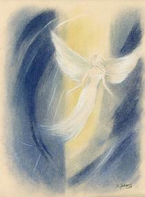 Engel im Licht - Engelmalerei  von Marita Zacharias