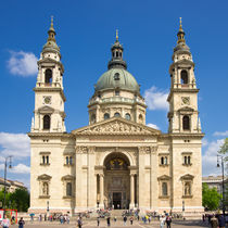 Budapest Sankt Stephans Basilika by Matthias Hauser