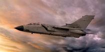 Panavia A-200 Tornado at Sunset by Steve H Clark Photography
