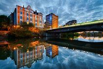 Evening in Hannover von Michael Abid