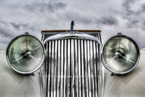 Classic Jaguar Car by David Pyatt