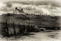 Seaton Sluice Harbour by David Pringle
