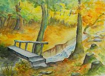 Herbstspaziergang im Wald by Eveline  Leibrock