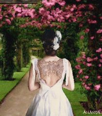 Tattooed Bride von Amanda Jones