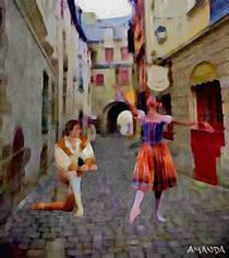 Renaissance Ballet by Amanda Jones