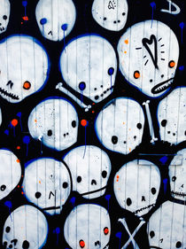 Cute Skulls by Giorgio Giussani