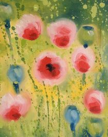 Pink Poppy by Ruth Baker