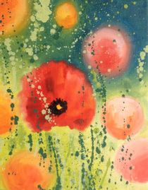 Giant Poppy by Ruth Baker