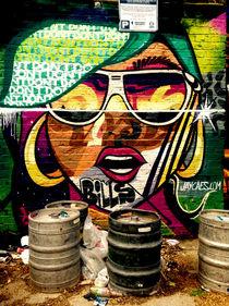 London Street art von Giorgio Giussani