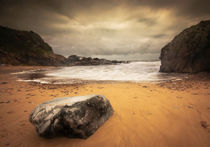 Rotherslade bay Gower by Leighton Collins