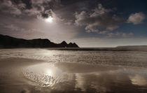 Three Cliffs Bay Gower von Leighton Collins