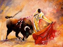 Toro Acuarela von Miki de Goodaboom
