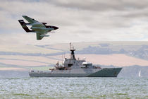 Royal Navy - HMS Mersey and Sea Vixen von Steve H Clark Photography