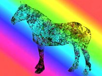 Pop art horse by Amanda Elizabeth  Sullivan