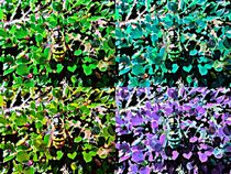Wasp pop art von Amanda Elizabeth  Sullivan