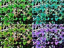 Wasp pop art by Amanda Elizabeth  Sullivan