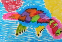 Funky platypus by Amanda Elizabeth  Sullivan
